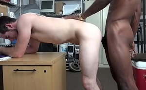 Straight amateur barebacked by black cock