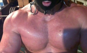 Muscle slave prosecution Bench Press