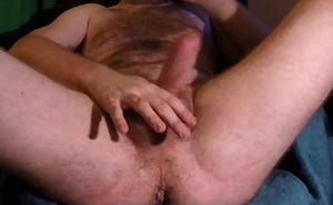 Tease, Stroking, Fingering and Hiding The Lube (Happylover82)