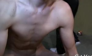 Happy-go-lucky boy massage porn