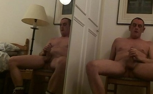 buccaneering and cumming on the mirror image