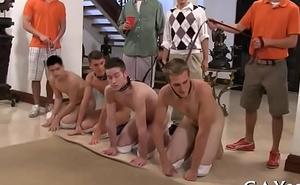 Homo one-eyed animalistic massage video