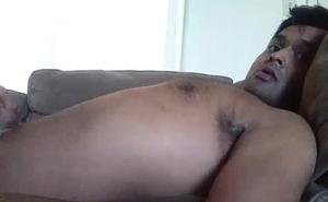 Masturbating while watching Indian porn