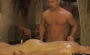 Gay Ass Pinpointing Massage Video