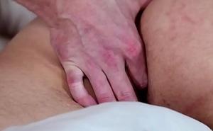 Well-muscled dudes face spunk