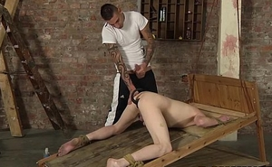 Delicious arse up twink Levi Stephans gets a huge big learn of