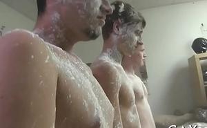 Homosexual lad massage videos
