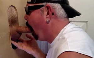 Soccer Daddy Cant Get Enough Gloryhole Action