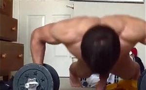 Muscle beatiful boy
