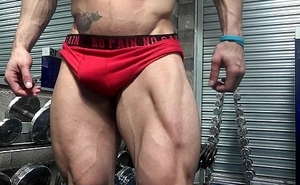 Aesthetic Muscle Flex Enactment