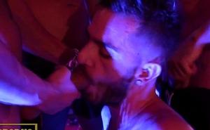 Spanish gays hot fuck in public