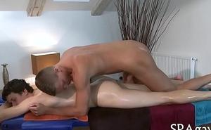 Homosexual massage bait