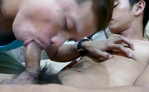 Straight Asian Boy Robin Gets Blowjob