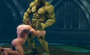 Gay Orc Blowjob