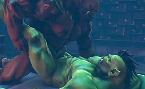Gay sex Orc