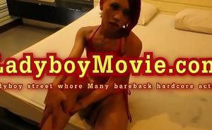 Ladyboy Hooker Many Fucked Bareback
