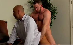 Anal gay sex male on male like a flash A difficulty daddies kick it off with some