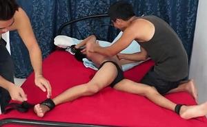 Gay Asian Twink Danillo Tickles Gilbert