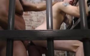 Black cellmate bang twink