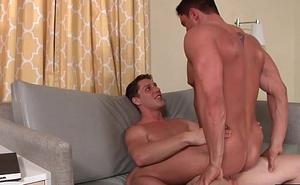 Jake oral job Pauls dick and bonks assfuck