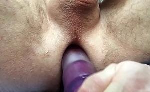 2 Dildos &amp_ 1 Hole