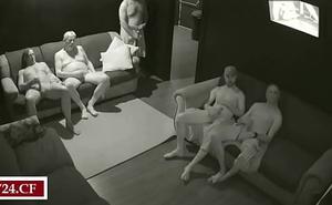 Real Delighted Sauna (hidden camera)