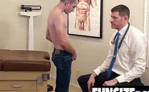 Massive flannel Daddy acclimate to up bare-ass anal penetration in tight boy-FUNSIZEBOYS.NET