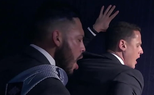 MENATPLAY Latino Viktor Rom Anal Fucks Businessman In Suit