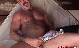 NASTYDADDY Tattooed Procreate Banneret Dyer Masturbates Learn of Solo