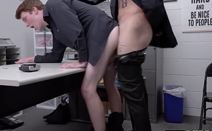 Cum in frowardness for busted young perp after hard-core bareback