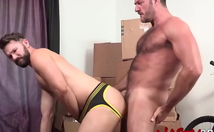NASTYDADDY Daddy Anthony London In serious trouble Fucks Hunky Radical