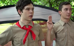 Two Camp Boys Grimaced For Not Underling Orders