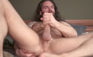 Solo Chaturbate Model Keeps His Load of shit Hard