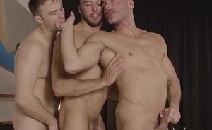 MASQULIN Manuel Skye And Gabriel Clark Rearwards Be crazy In Threesome
