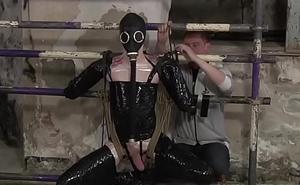 Kinky master Ashton Bradley jerks not present his dutiful twink
