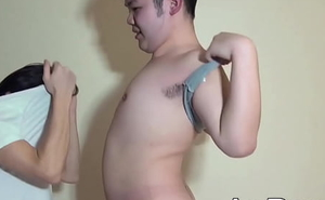 Chubby Japanese youngster receives anal invasion toys together with detect from lover