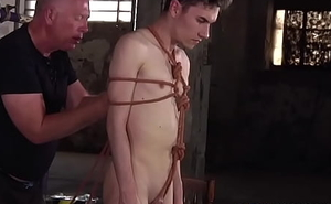 Submissive twink Nathan Reyes pledged by way of S&m session