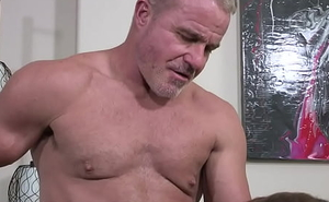 Innocent Boy Josh Cannon Gets Affianced And Fucked At the end of one's tether Stepdaddy