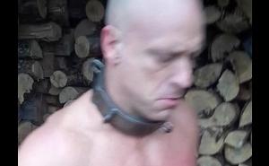 Flesh slave Stacking Wood